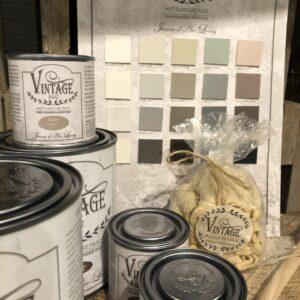 Vintage Paint - kalkmaling, voks mm
